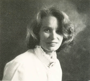 Author photo. Geraldine Stott