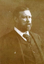 Author photo. Bram Stoker