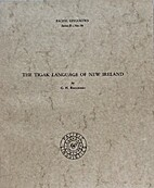 The Tigak language of New Ireland by Clive…