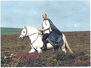 """Author photo. Craig Weatherhill filming for ITV's """"Lost Land of Lyonesse"""""""