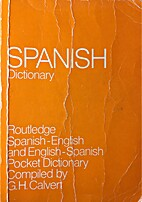 Dictionary of the Spanish and English…