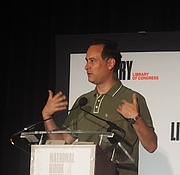 """Author photo. reading at the National Book Festival, Washington, D.C. By slowking4 - Own work, GFDL 1.2, <a href=""""https://commons.wikimedia.org/w/index.php?curid=72267039"""" rel=""""nofollow"""" target=""""_top"""">https://commons.wikimedia.org/w/index.php?curid=72267039</a>"""