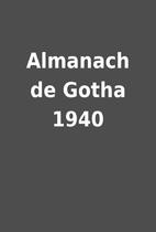 Almanach de Gotha 1940