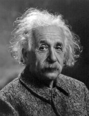 Author photo. Albert Einstein in 1947 [Photograph by Oren Jack Turner, Princeton, N.J.; source: Library of Congress's Prints and Photographs division under the digital ID cph.3b46036]
