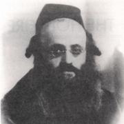 Author photo. Rabbi Kalonymus Kalman Shapira of Piasetzno