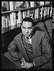 Author photo. Richard Wright (1908-1960)<br>