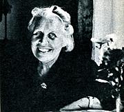 Author photo. Vivi Täckholm 1969. Foto: Röster i Radio