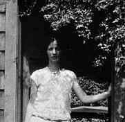 Author photo. Louise Bogan, ca. 1920 [source: Curt Alexander (dies 1920), her husband]