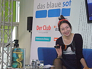 Author photo. Jenny-Mai Nuyen in 2009 [credit: Blaues Sofa from Berlin, Germany; grabbed from Wikimedia Commons]