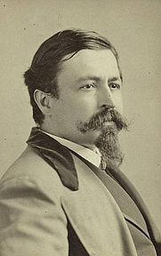 Author photo. Photo by Napoleon Sarony<br>Courtesy of the <a href=&quot;http://digitalgallery.nypl.org/nypldigital/id?115766&quot;>NYPL Digital Gallery</a><br>(image use requires permission from the New York Public Library)