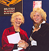 Author photo. Elizabeth Cowling (on right)