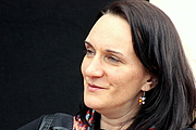 "Author photo. Terézia Mora, Leipzig Book Fair 2015 By Lesekreis - Own work, CC0, <a href=""https://commons.wikimedia.org/w/index.php?curid=39201883"" rel=""nofollow"" target=""_top"">https://commons.wikimedia.org/w/index.php?curid=39201883</a>"