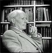 Author photo. Portrait of subject by Antony Barrington Brown, 1957, ex Wikipedia