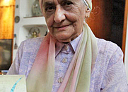 Author photo. Zuleikha Mayat, aged 89