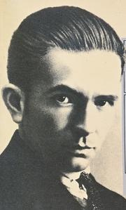 Author photo. Paul van Ostaijen (book cover)