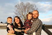 Author photo. Me (Sandra Magura) and my family