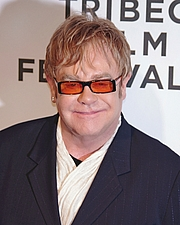 Author photo. Elton John (2011)