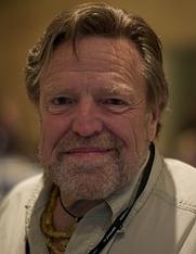Author photo. Flickr user Mohamed Nanabhay from Qatar, taken August, 2012. RIP, John.