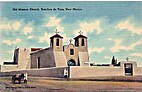 Old Mission Church, Ranchos de Taos, New…