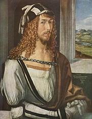 Author photo. Self-portrait, 1498, <br>Museo del Prado, Madrid, Spain<br> (Yorck Project)