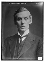 Author photo. (Library of Congress Prints and Photographs Division LC-DIG-ggbain-23557)