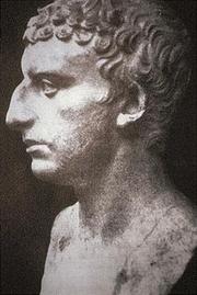 Author photo. Roman bust supposed to represent Flavius Josephus (identification is unsure though)