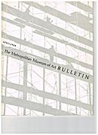The Metropolitan Museum of Art Bulletin:…