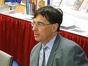 Author photo. Steven G. Krantz at the Joint Mathematics Meetings in Washington, DC, January 2009 - Photo © AllenS