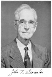 Author photo. From <a href=&quot;books.nap.edu/html/biomems/jswanton.pdf&quot; rel=&quot;nofollow&quot; target=&quot;_top&quot;>John Swanton biographical memoir</a>, National Academy of Sciences, 1960.