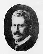 Author photo. Georg Steindorff [credit: Universitätsarchiv Leipzig]
