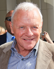 Author photo. Anthony Hopkins at the 2010 Toronto International Film Festival. Photo credit: Flickr user gdcgraphics.