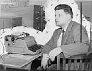 Author photo. World-Telegram photo by Walter Albertin, 1958 (Library of Congress Prints and Photographs Division, LC-USZ62-121944)
