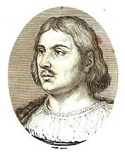 Author photo. Portrait of Giovanni Boccaccio from Il decameron di Messer Giovanni Boccaccio (Firenze : Ciardetti, 1822).