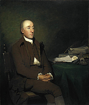 Author photo. James Hutton, by Sir Henry Raeburn. Wikimedia Commons.