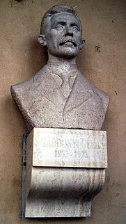 Author photo. Bust of Géza Gárdonyi, Szeged, Hungary.  Photo by user Csanády / Wikimedia Commons.