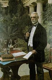 """Author photo. August Jerndorff (1886). Reproduced in """"BRYGGEREN J. C. Jacobsen på Carlsberg"""" by Kristof Glamann"""