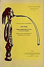 Le iaai. Langue melanesienne d'Ouvea…