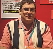 Author photo. Midtown Comics signing @ New York Comic-Con, photo by Lampbane