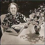 Author photo. Wilhelmina F. Jashemski