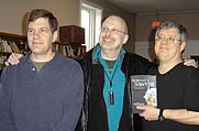 Author photo. Mark A. Garland, Robert J. Sawyer, Chuck McGraw