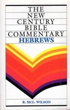 Hebrews: New Century Bible Commentary by…