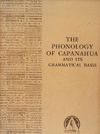 The phonology of Capanahua and its…