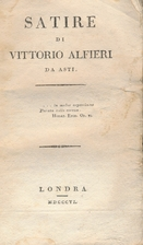 Satire by Vittorio Alfieri