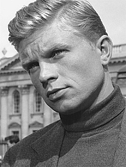 Author photo. Hardy Krüger circa 1960