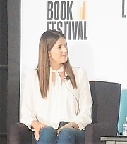 """Author photo. reading at the National Book Festival, Washington, D.C. By slowking4 - Own work, GFDL 1.2, <a href=""""https://commons.wikimedia.org/w/index.php?curid=72267089"""" rel=""""nofollow"""" target=""""_top"""">https://commons.wikimedia.org/w/index.php?curid=72267089</a>"""