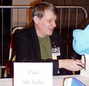 Author photo. Paul J. McAuley - Photo: © Szymon Sokół