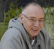 Author photo. Nigel Barley on May 26, 2007 in Saint Malo in France