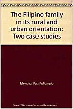The Filipino family in its rural and urban…