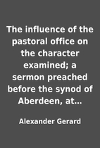 The influence of the pastoral office on the…