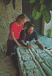 Author photo. Gene and George Stuart